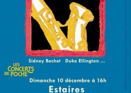 Concert de Poche : du jazz à Estaires (le 10 décembre) avec Vincent PEIRANI et Émile PARISIEN