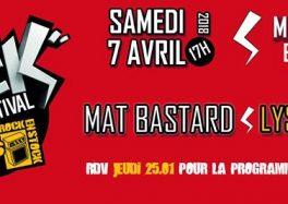 Le Millesium Rock Festival le 07 avril 2018 à Epernay ça c'est culte festival ticket billet