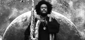 Kamasi Washington, phare de la nouvelle génération du jazz, à La Madeleine (be) le 30 mai 2018