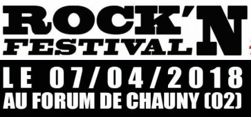Rock'Aisne festival édition du 7 avril 2018