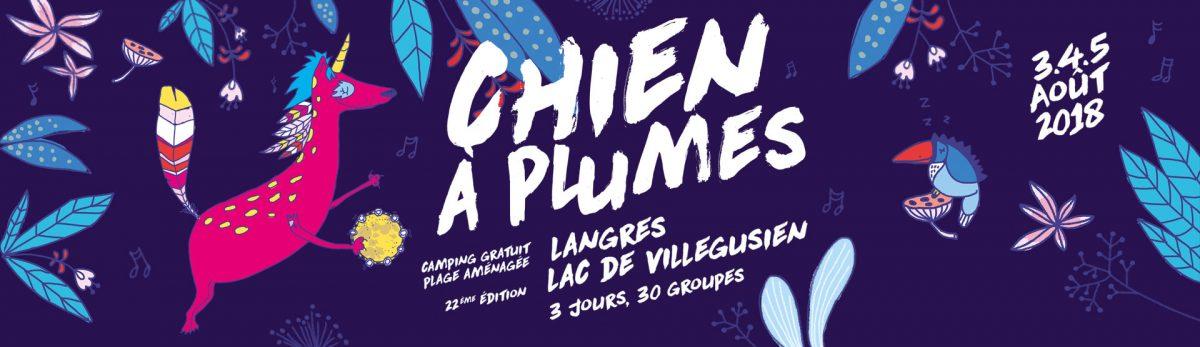 Le Chien à Plumes 2018 annonce ses premiers noms