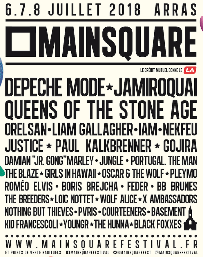 Main Square Festival 2018 cacestculte billet ticket