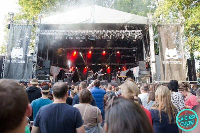 Les Nuits Secrètes 2018 Mathias Vroman cacestculte reportage live report aulnoye-aymeries festival concerts