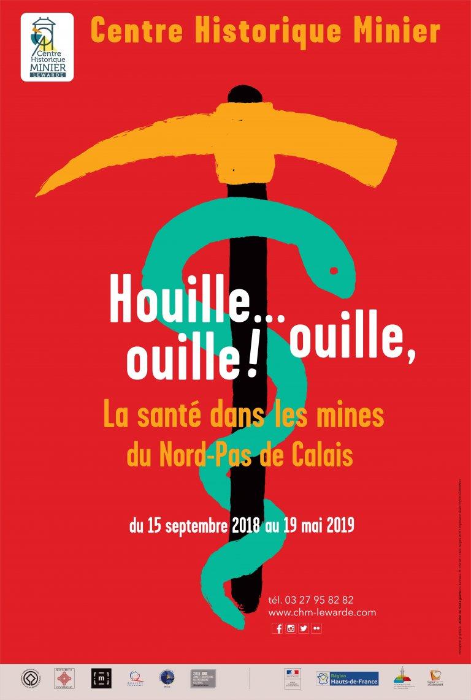 Affiche-sante-a-la-mine-min L'exposition houille ouille ouille Nord-Pas-de-Calais centre minier historique cacestculte