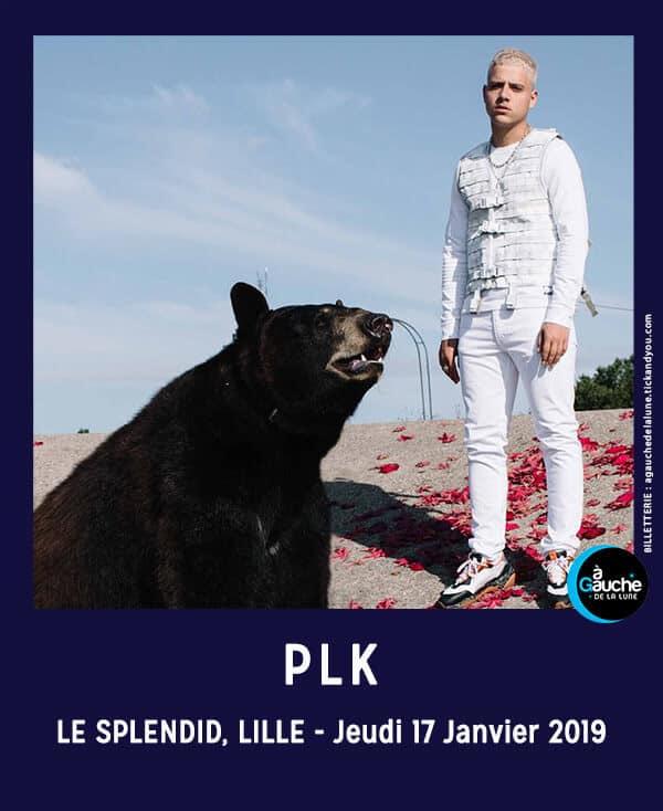 PLK en concert au Splendid de Lille, le 17 janvier 2019 cacestculte