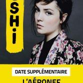 Hoshi en concert au Splendid de Lille c'est complet ! Annonce d'une date supplémentaire !