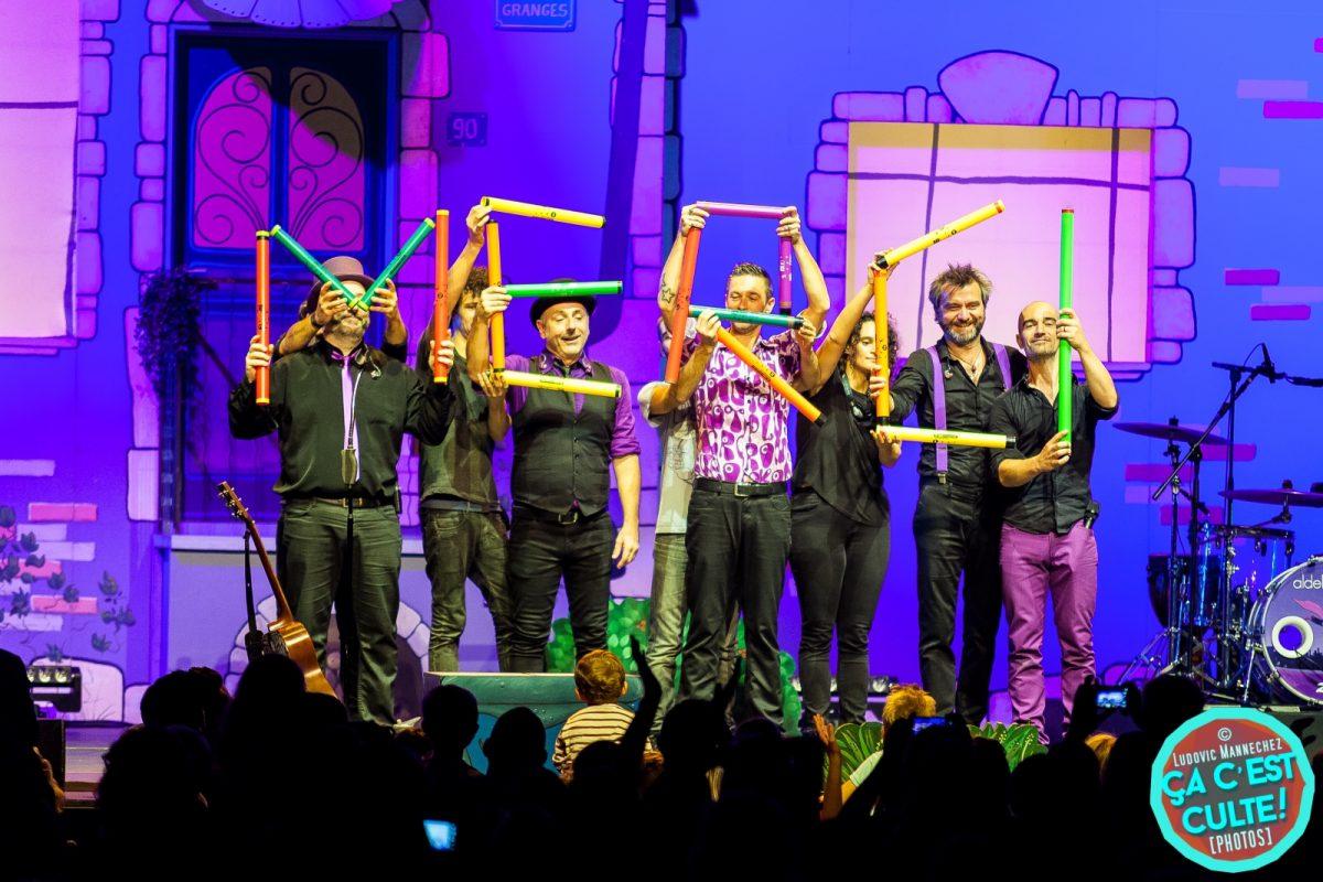 """ALDEBERT """"Enfantillages 3"""" : dernière saison et la tournée des dix ans ! Aldebert au Scénéo de Longuenesse © Ludovic Mannechez"""
