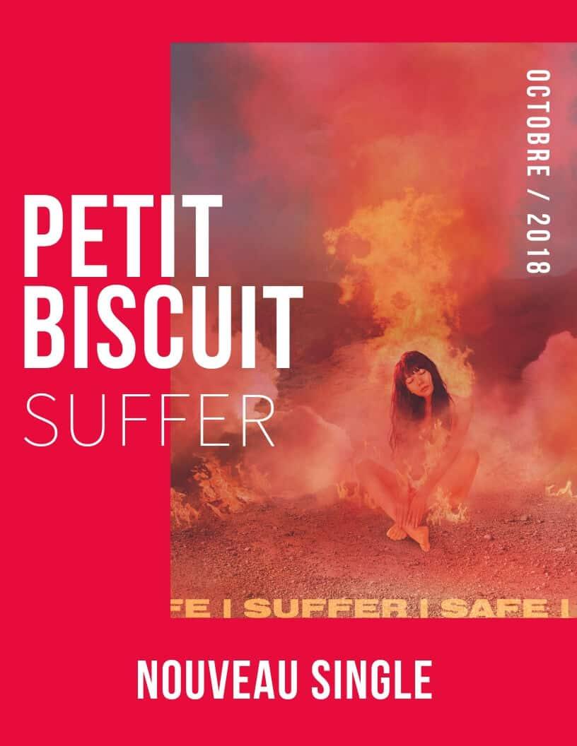 Petit Biscuit : Suffer avec la chanteuse suédoise Skott et en direct sur Youtube