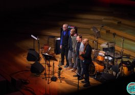 AZIZA feat. Dave Holland, Chris Potter, Kevin Eubanks & Eric Harland au Studio 4 à Flagey © Bernard Rie