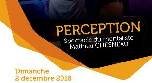 La Sainte-Barbe au Centre Historique Minier : Mathieu CHESNEAU présentera son spectacle PERCEPTION cacestculte