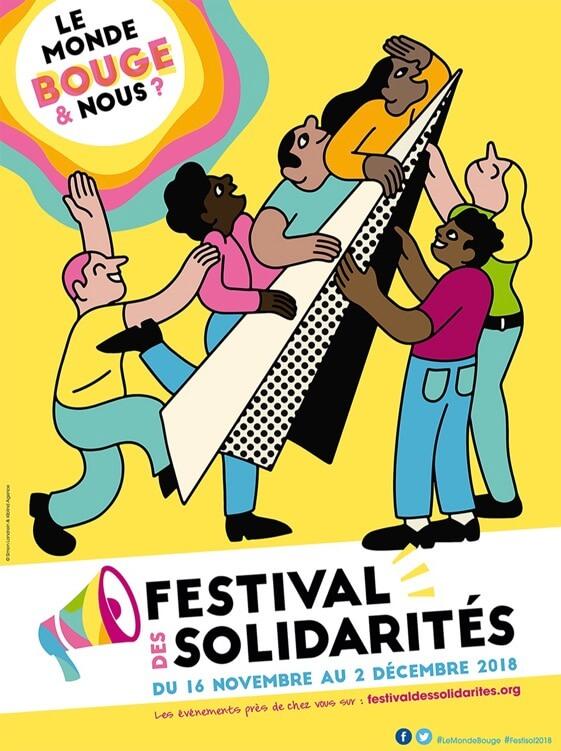 Festival des Solidarités 2018 (ou Festisol 2018) : la ville de Wattignies actrice !