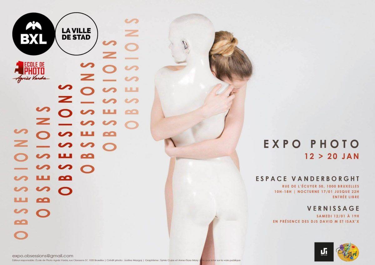 Obsessions ► Exposition photographique à Bruxelles : du 12 au 20 janvier 2019 cacestculte