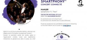 Smartphony, le concert connecté de l'ONL revient le samedi 2 février cacestculte