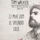 Tom Walker en concert au Splendid de Lille le 22 mai 2019