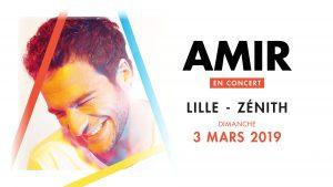AMIR : complet demain au théâtre Sébastopol de Lille, en mars 2019 au Zénith de Lille !