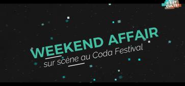 Weekend Affair - Stuck on Land en concert au Coda Festival 2018 à #Bondues. ça c'est culte cacestculte