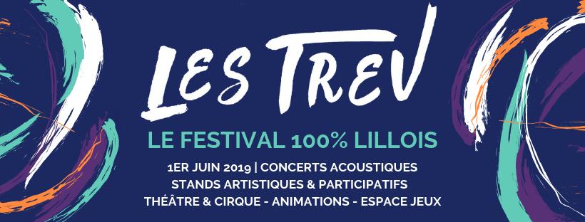 Les Trev : un festival 100% lillois le 1er juin 2019 dans le Vieux-Lille
