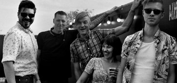 Trapper Schoepp, Skinny Lister 30 mars 2019 à Kavka, Anvers