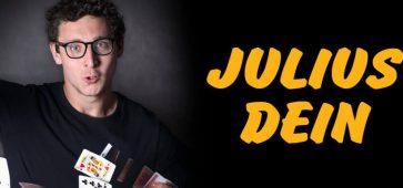 Le magicien et YouTuber Julius Dein à la Zuiderpershuis d'Anvers le 6 mai 2019