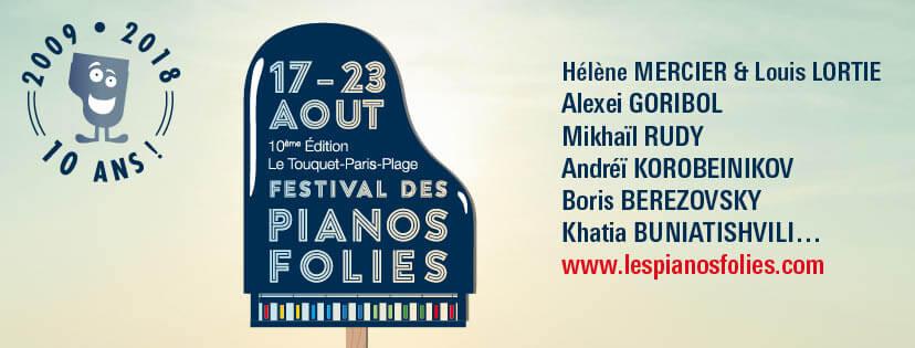 Les Pianos Folies du Touquet saison 2019 festival ça c'est culte cacestculte artistes