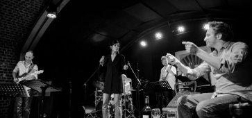 Le quintet de l'Âme Strong chante Gainsbourg et les femmes (Maison de Folie Fort de Mons) © Anthony Pestel