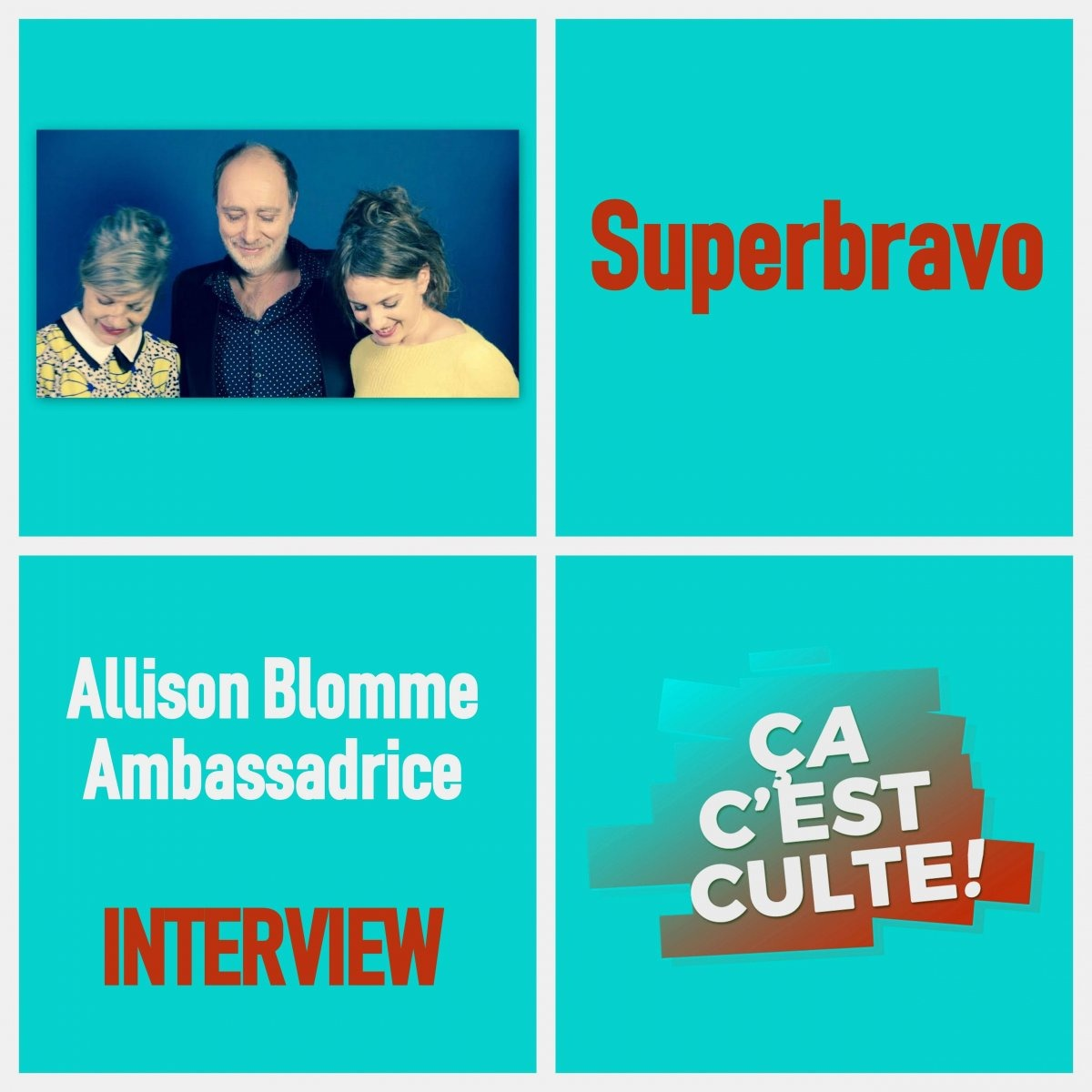 Interview : Armelle Pioline de Superbravo