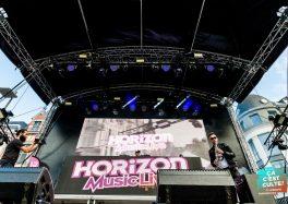 14 juillet à Béthune avec Horizon Music Live (The Avener + Feder + Ofenbach + Sound of Legend + Aslove + Major Son + Etienne & Eddsax) © Ludovic Mannechez