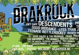 Brakrock EcoFest 2019 : les 2 et 3 août 2019 à Duffel [Belgique]