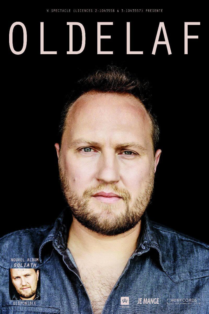 Oldelaf son récent album et le 14 mars 2020 au Zéphyr à Hem