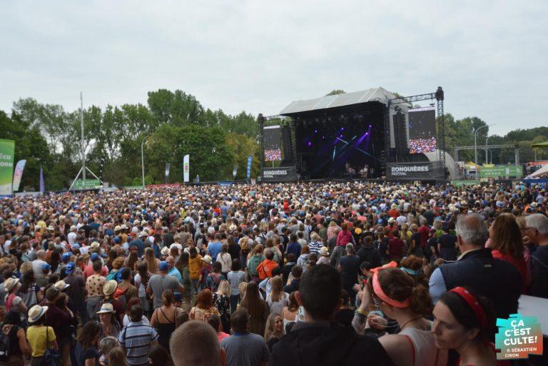 Le Ronquières Festival aura lieu les 14 et 15 août prochain !