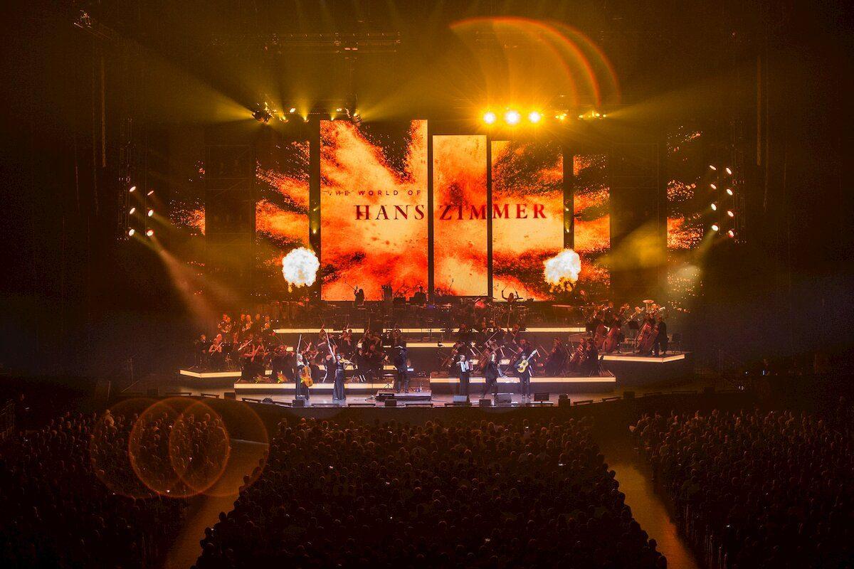 Hans Zimmer en concert au Zénith de Lille en novembre 2020