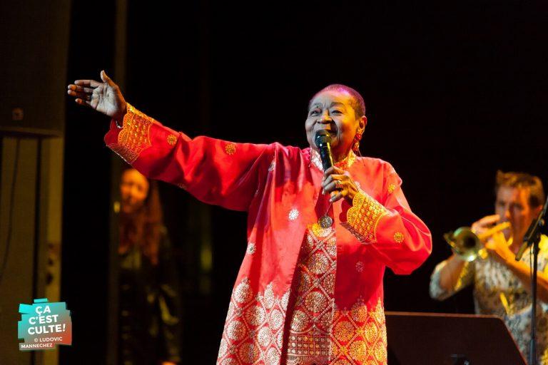 Calypso Rose + Vitto Meirelles au Théâtre de Béthune ©Ludovic MANNECHEZ