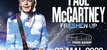 Paul McCartney au Stade Pierre Mauroy The FRESHEN UP Tour 2020
