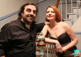 André Manoukian et Élodie Frégé au Théâtre d'Abbeville ©Jérôme Fauquet