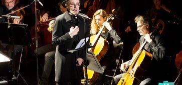 "Lambert Wilson et L'Orchestre National de Lille ""Kurt Weill"" au Théâtre Municipal de Béthune © Ludovic MANNECHEZ"