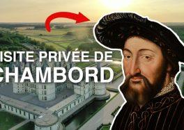 VISITE PRIVÉE DU CHÂTEAU DE CHAMBORD EN CONFINEMENT