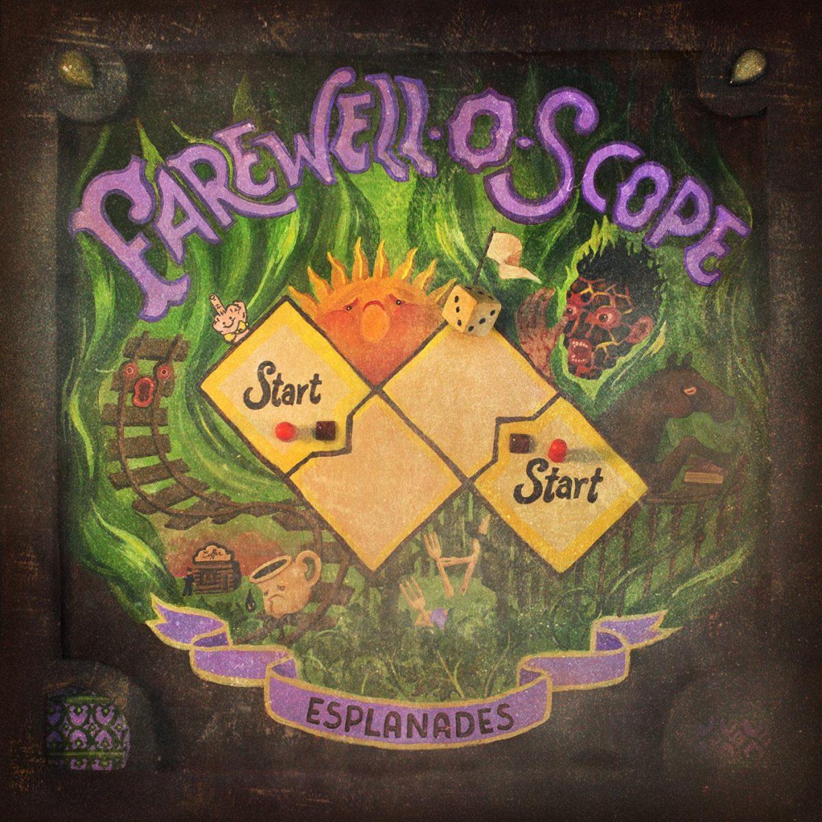 Sortie du nouvel EP d'Esplanades Farewell-O-Scope le 18 septembre 2020