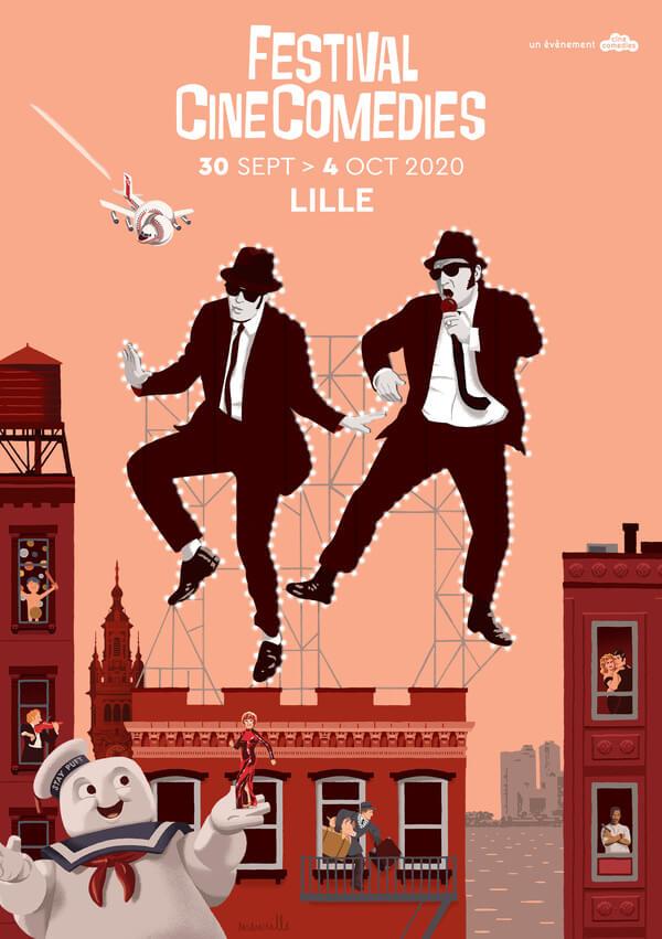 Troisième édition du Festival CineComedies 2020 - 30 septembre au 4 octobrre