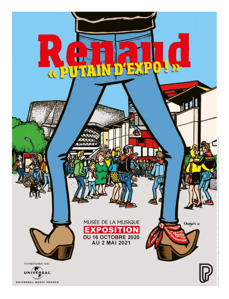 Putain d'expo affiche Renaud