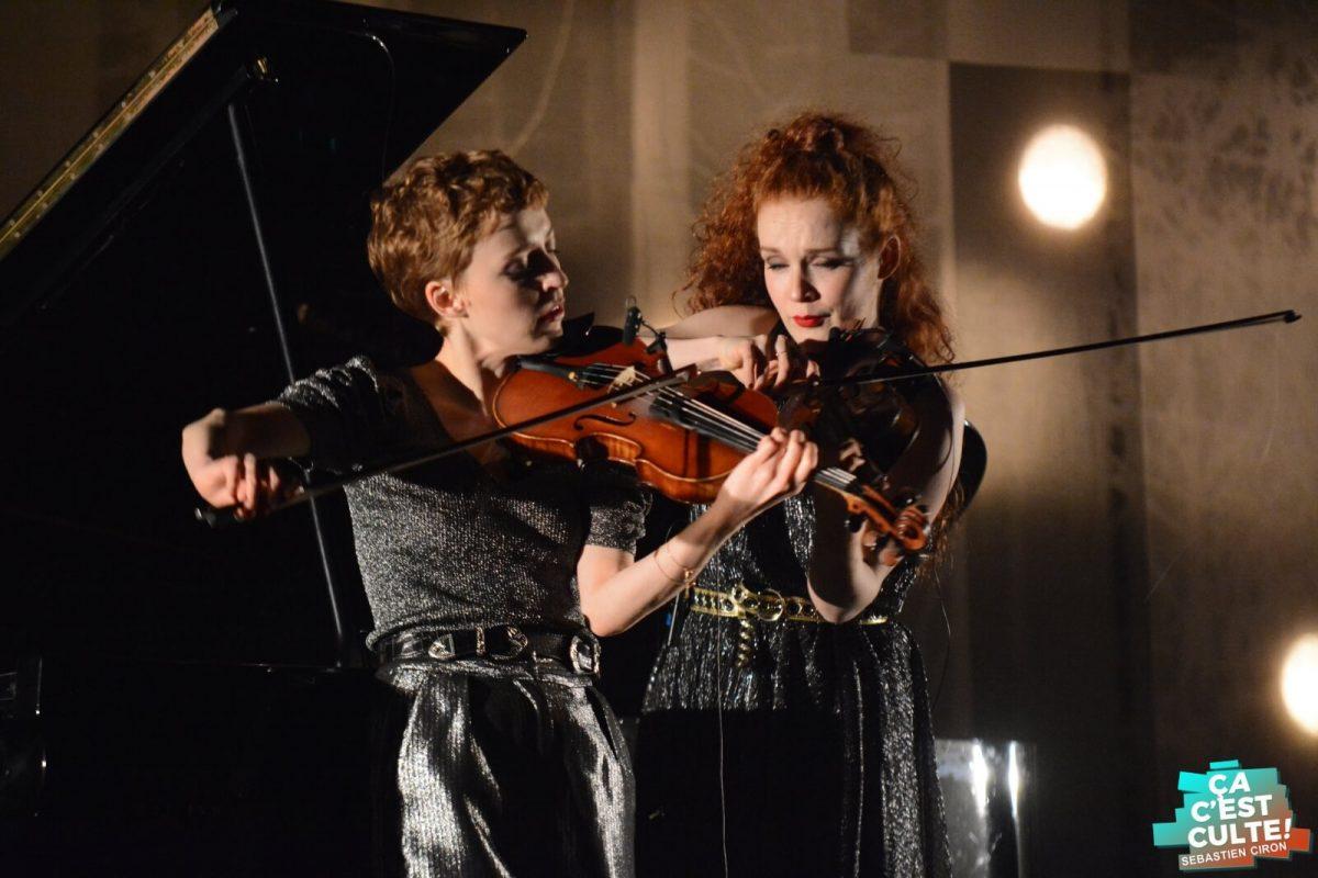 Camille et Julie Berthollet au Colisée de Lens © Sébastien Ciron