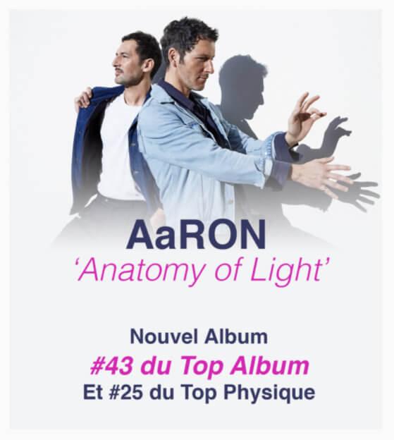 Quatrième opus pour Aaron : Anatomy of light