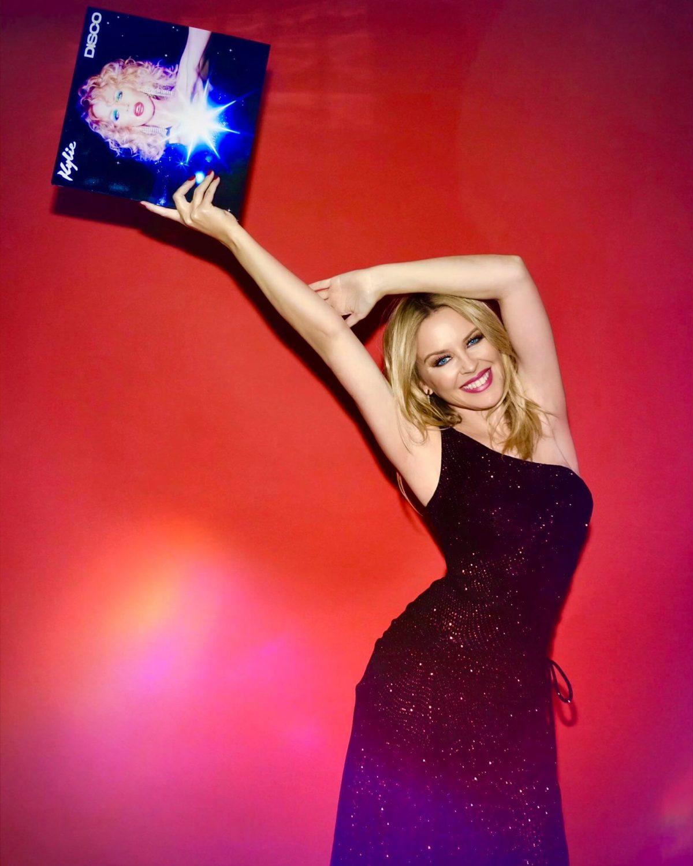 kylie minogue release disco album