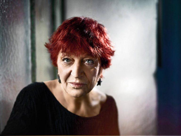 Anne Sylvestre portrait 2017