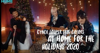 Cyndi Lauper – True Colors Home for the Holidays 2020