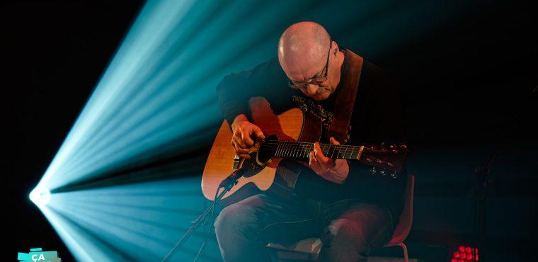 Captation du célèbre guitariste Jacques Stotzem au Delta de Namur © Bernard RIE