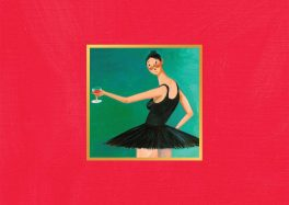 """My Beautiful Dark Twisted Fantasy"" le plus bel album de Kanye West"
