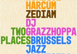 Brussels Jazz Orchestra : Two Places (février 2021), un nouveau projet surprenant de très bon goût.