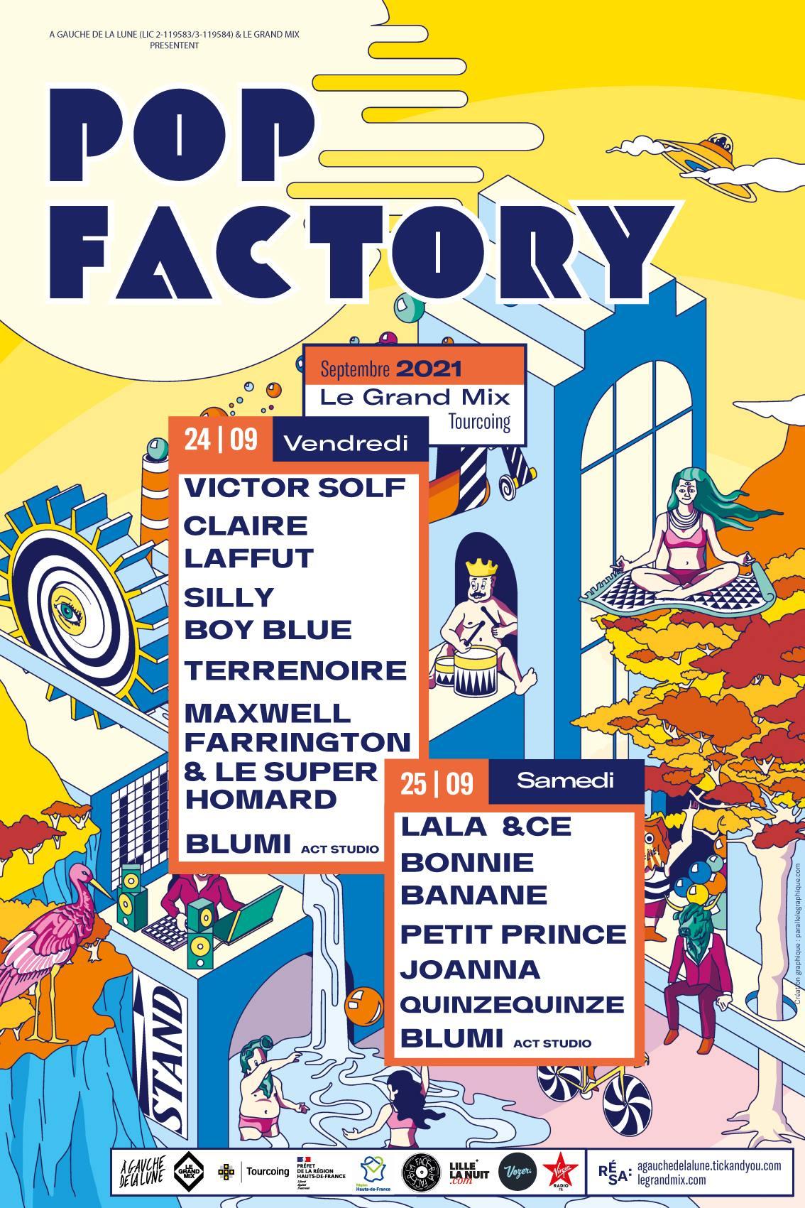 LE FESTIVAL POP FACTORY