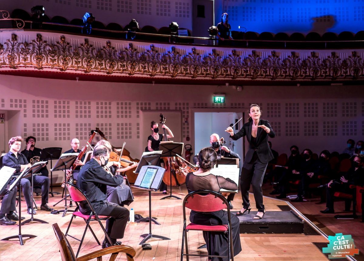 Concert-évaluation du Conservatoire de Lille avec l'ONL © Eric Corrion