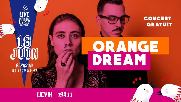 Live entre les Livres s'arrête à Liévin - Orange dream
